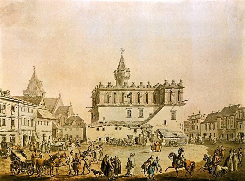Tarnow Rynek Square In 1750